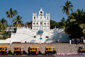 Churches of Goa Tourism Images