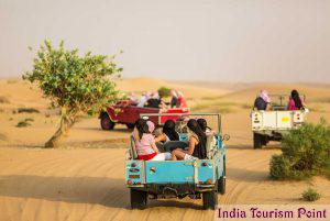 Desert Safari Tourism Wallpaper
