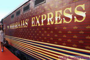 India Luxury Train Tourism Image