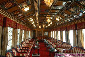 India Luxury Train Tourism Photo