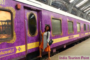 India Luxury Train Tourism Photos
