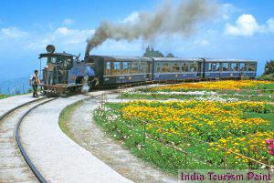 India Luxury Train Tourism Still