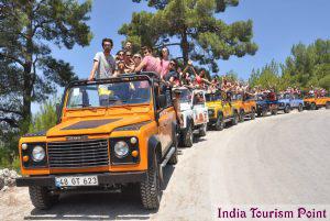 Jeep Safari Tourism Stills