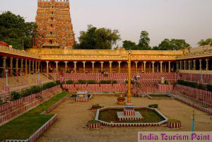 South Indian Madurai Temple Image