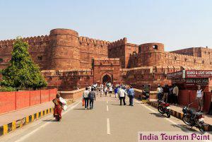 Taj Mahal Tourism Agra Fort Images