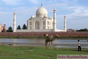 Taj Mahal Tourism Photos